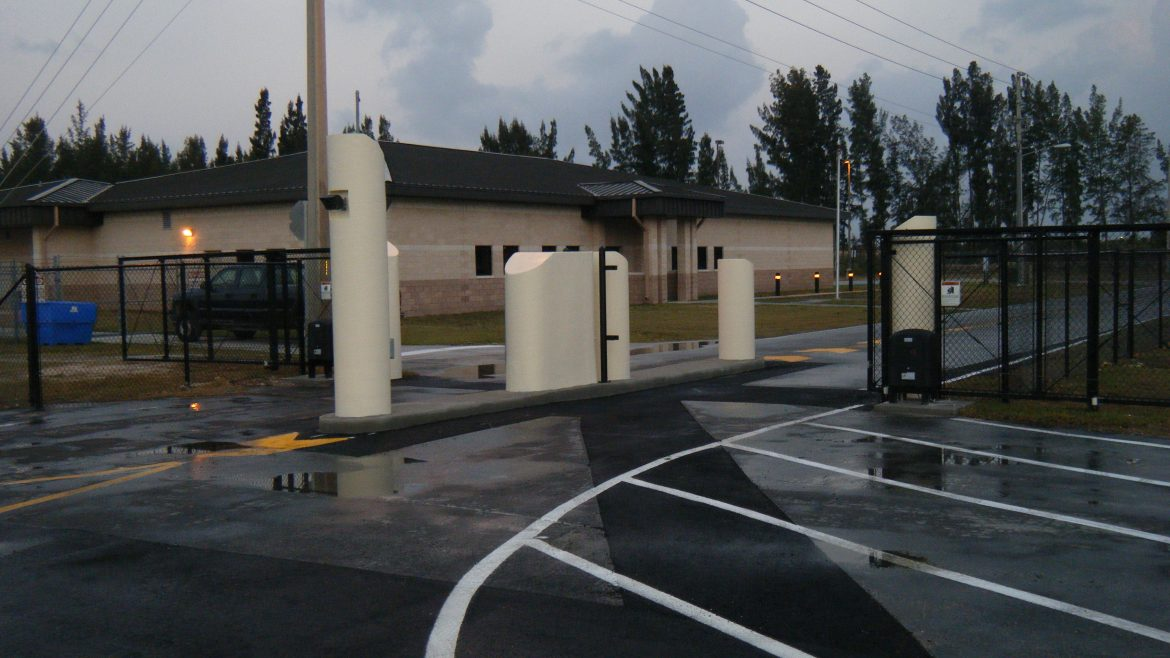 Title:  Design Build Air and Marine New Gate Location: Homestead Air Force Base, FL Value: $197,850.00 Awarded: 2012