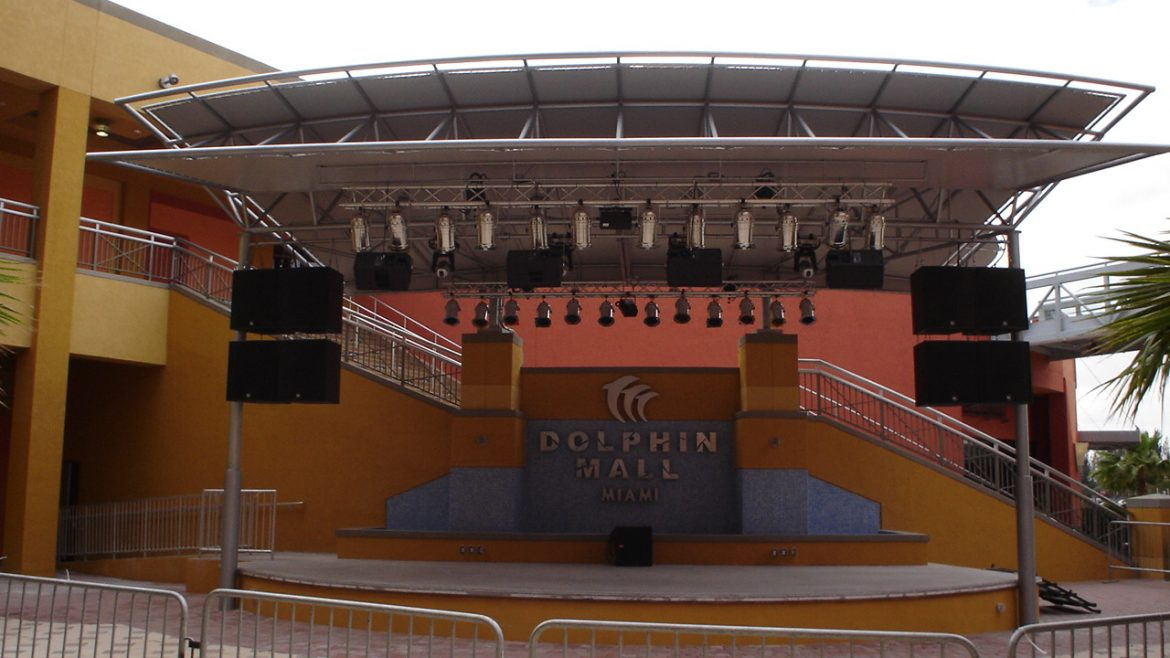 Title: Dolphin Mall New Concert Stage Location: Miami, FL Value: $934,262.00 Awarded: 2013