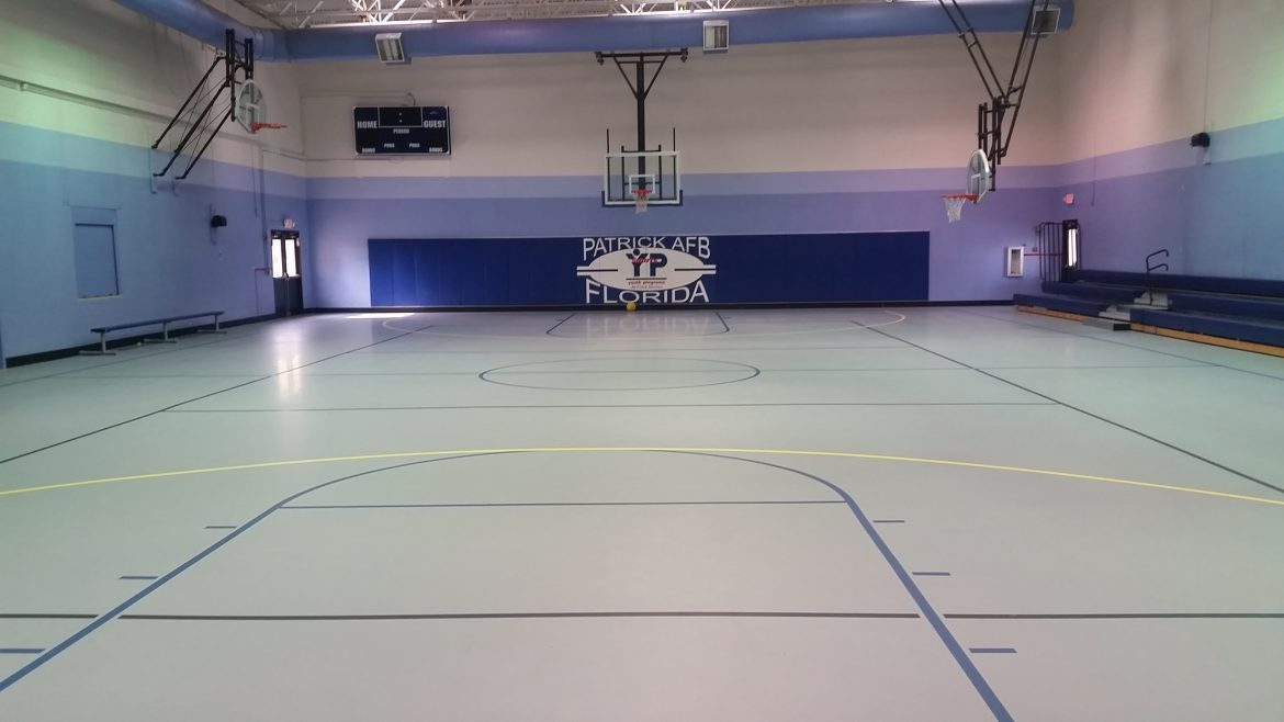 Title: Basketball Court Location: Patrick Air Force Base Value: $75,000.00 Awarded: 2015