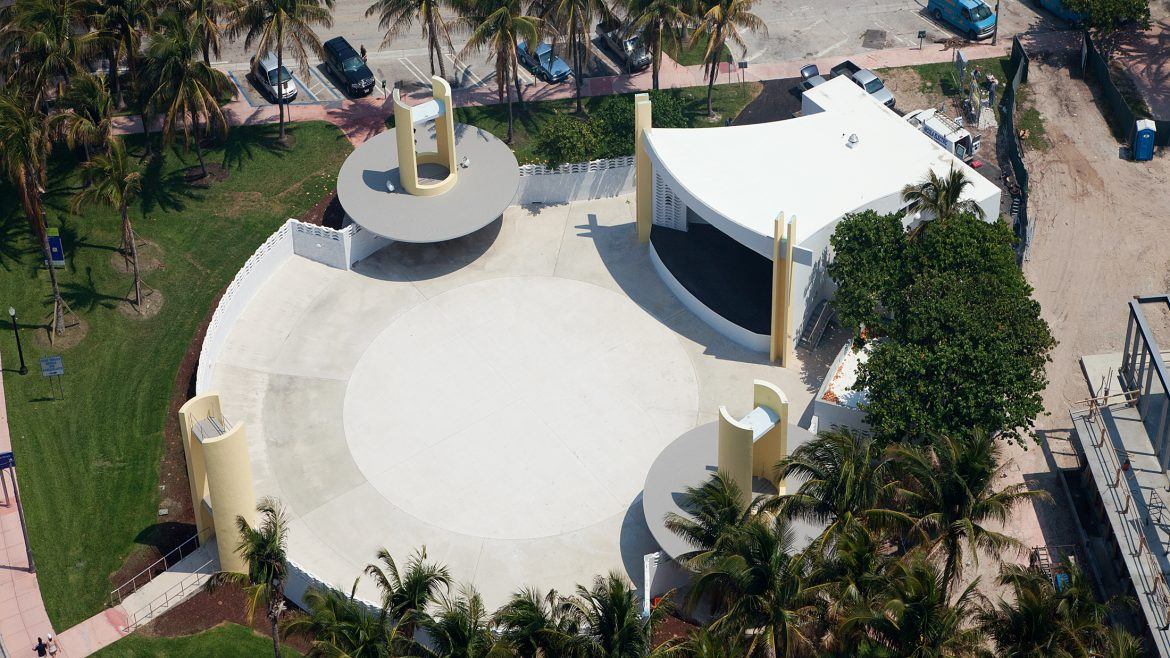 Title: Renovation of Miami Beach Bandshell Location: Miami Beach, FL Value: $934,262.00 Awarded: 2013