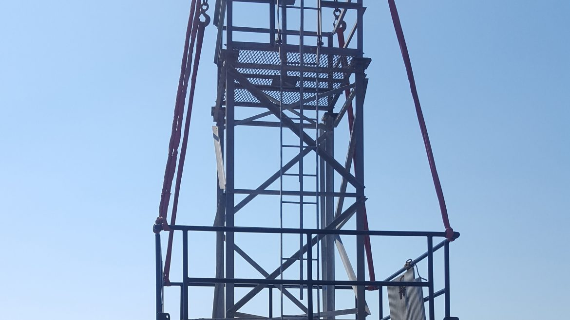Title: Installation of New Tower Location: Mullet Key, FL Value: $375,398.00 Awarded: 2016
